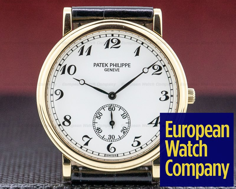 Patek Philippe 5022J-011 Calatrava Manual Wind 18K Yellow Gold