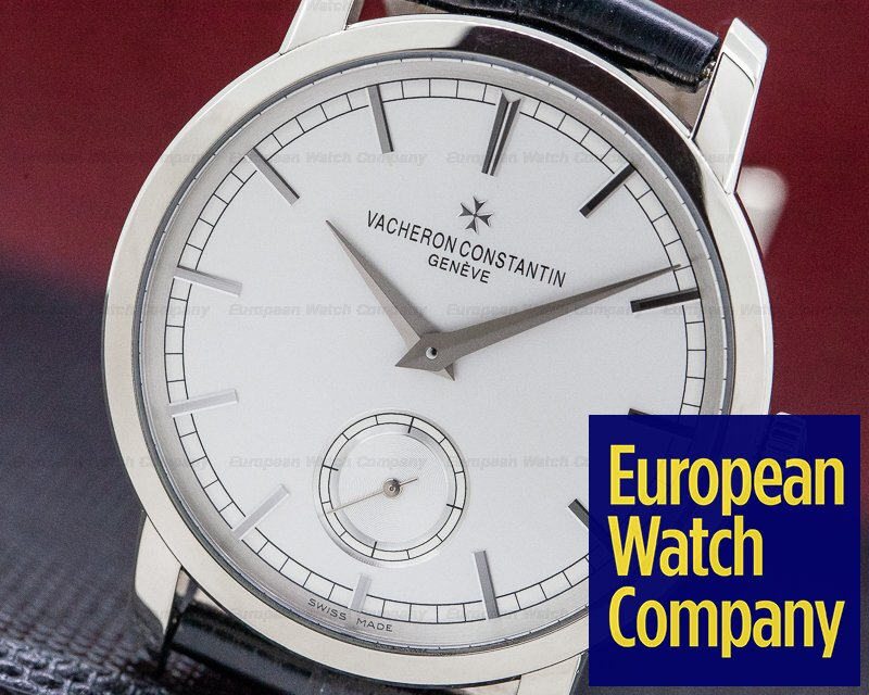 Vacheron Constantin 82172/000G-9383 Patrimony Traditionnelle Manual Wind 18K White Gold