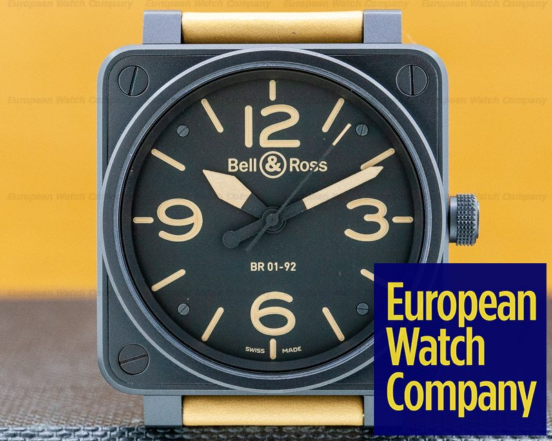 Bell & Ross BR-01-92-S Limited BR-01-92-S Limited PVD Limited