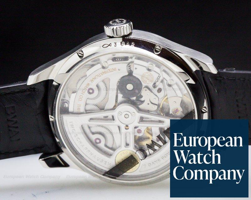 IWC IW503501 Portuguese Annual Calendar SS Silver Dial