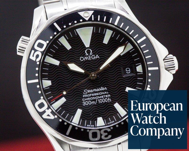 Omega 2264.50.00 Seamaster SS Black Dial Quartz