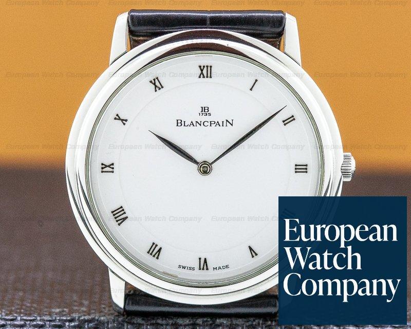 Blancpain 0021-1127-55 Ultra Thin Manual Steel