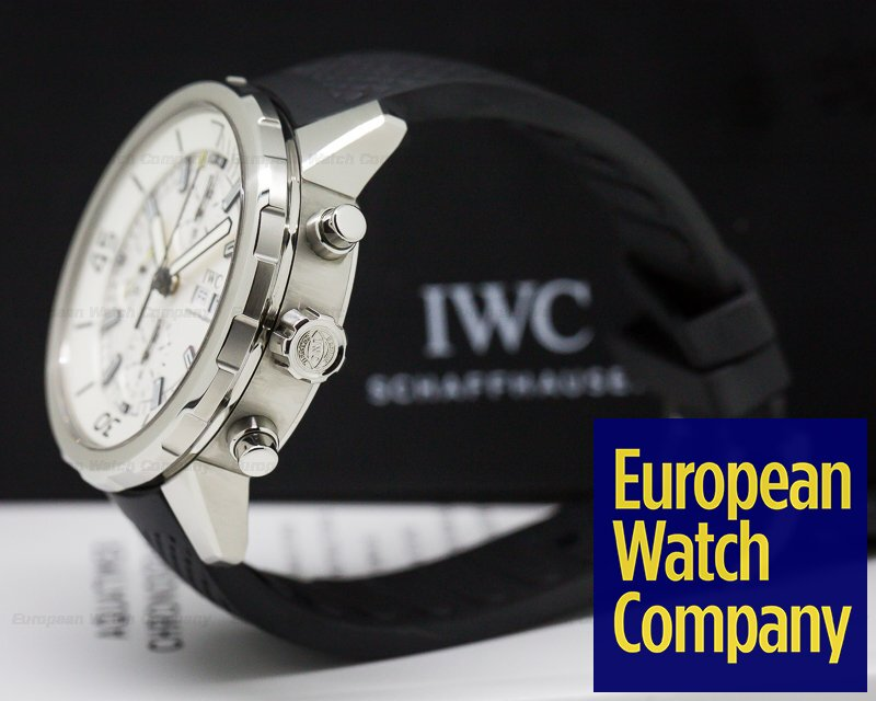 IWC IW376801 Aquatimer Chronograph SS / Rubber Silver Dial
