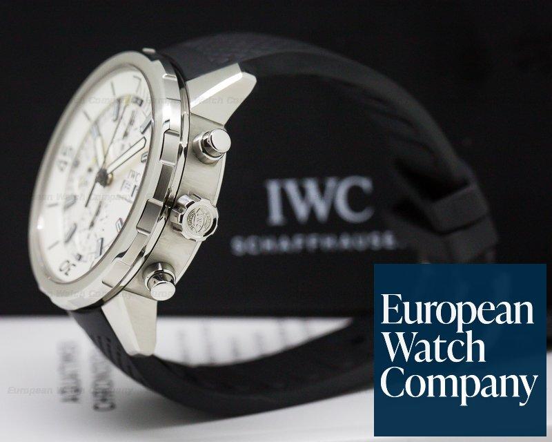 IWC IW376801 Aquatimer Chronograph SS / Rubber Silver Dial
