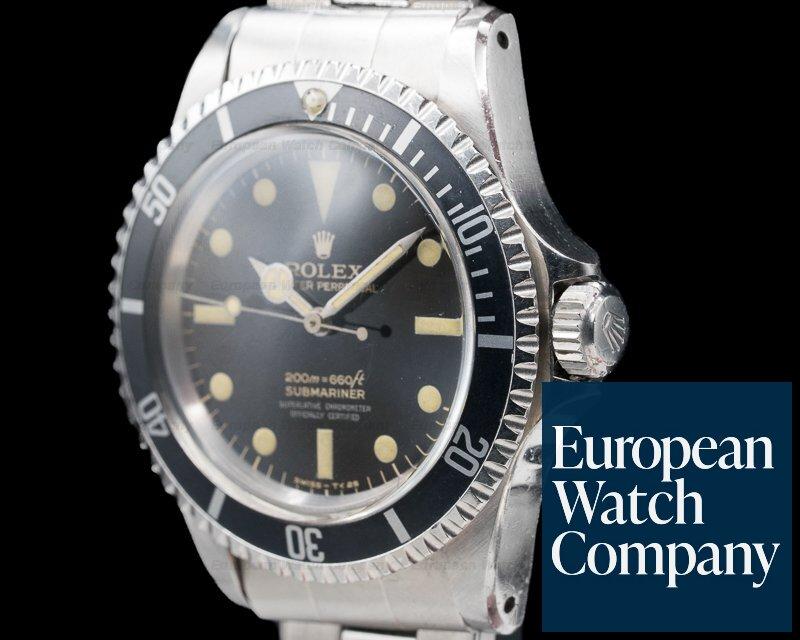 Rolex 5512 Submariner 5512 4 Line Gilt FULL GLOSS 1966