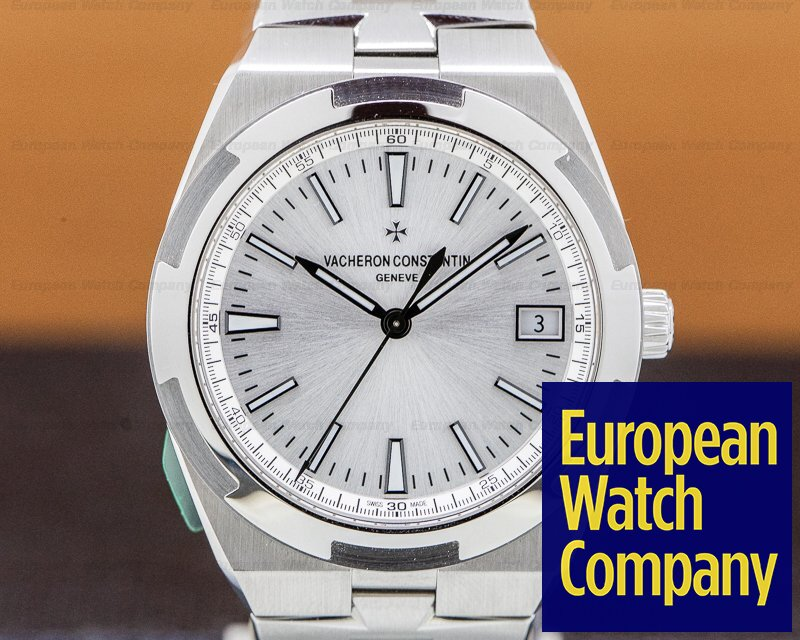 Vacheron Constantin 4500v/110a-b126 Overseas Automatic 41mm Silver Dial SS / SS UNWORN