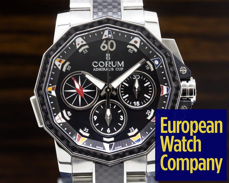 Corum 986-691-11-F371-AN92 Corum Admiral's Cup Challenger Split-Second Chronograph SS