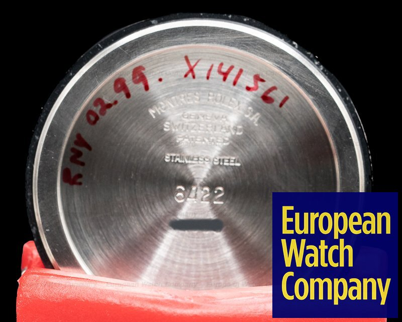 Rolex 6422 Brevet Oyster Precision Manual Wind 1950's Radium Gloss Dial