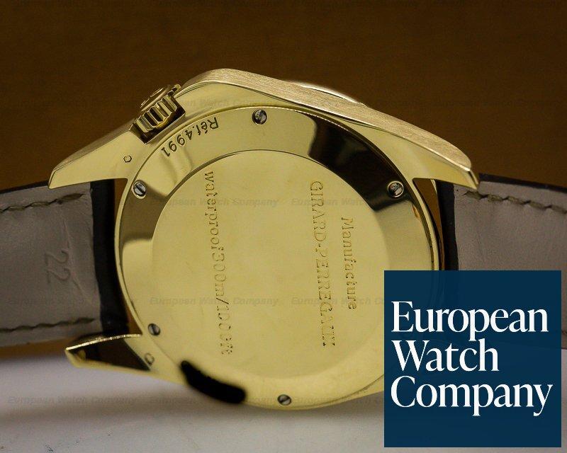 Girard Perregaux 4991 Sea Hawk II John Harrison Blue Dial / Yellow Gold
