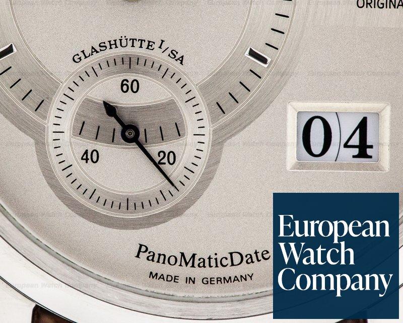 Glashutte Original 90-01-02-02-04 PanoMaticDate SS Silver Dial