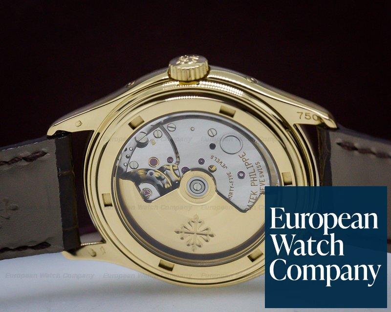 Patek Philippe 5035J-001 Annual Calendar Ivory Dial Yellow Gold