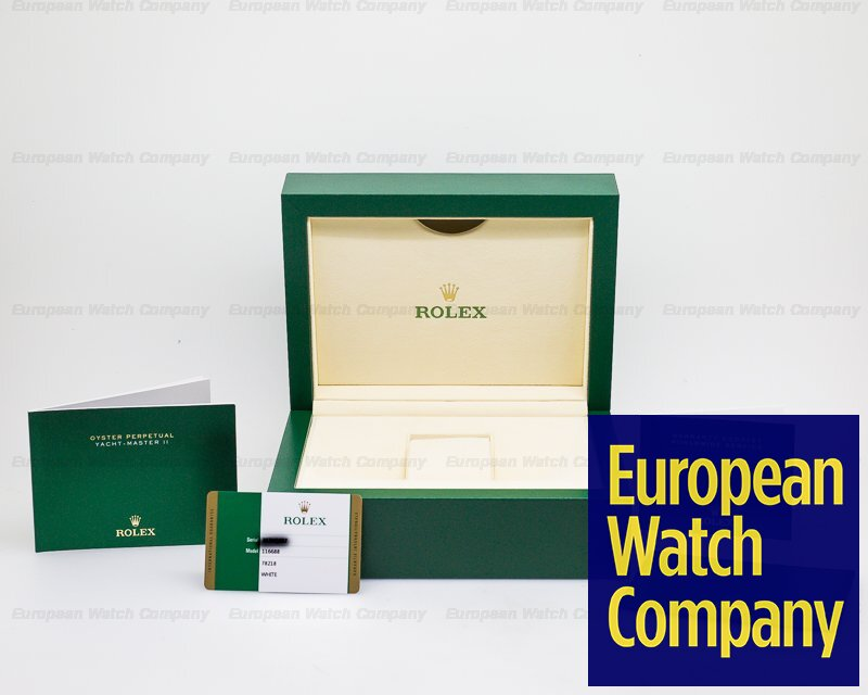 Rolex 116688 Yacht Master II 18K Yellow Gold 2018 NEW DIAL + HANDS