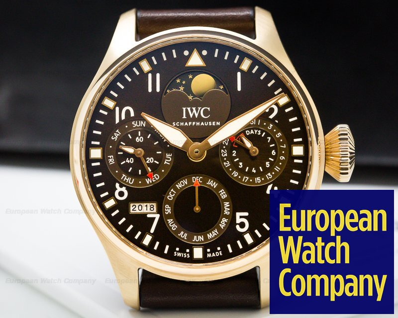 IWC IW502804 Big Pilot Perpetual Calendar Rose Gold Limited 50 Pieces