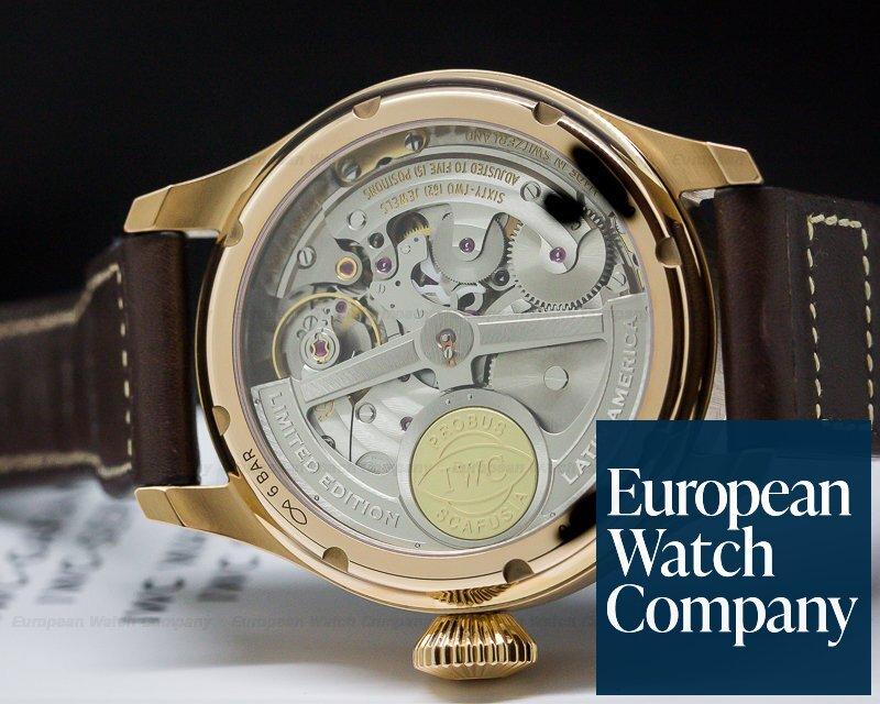 IWC IW502804 Big Pilot Perpetual Calendar Rose Gold Limited 50 Pieces