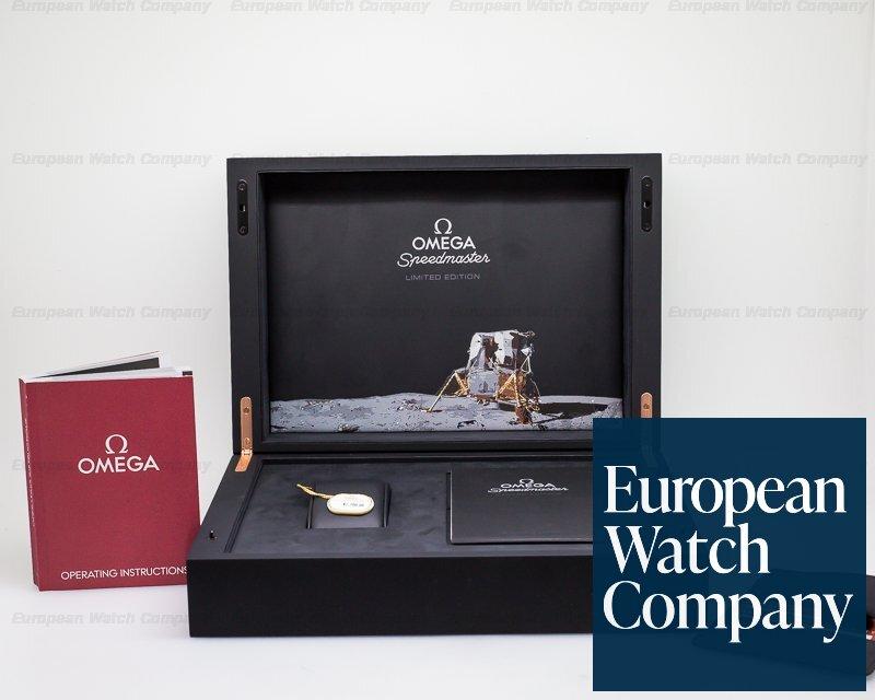 Omega 311.62.42.30.06.001 Apollo 11 Speedmaster Moonwatch Titanium / 18K Rose Gold