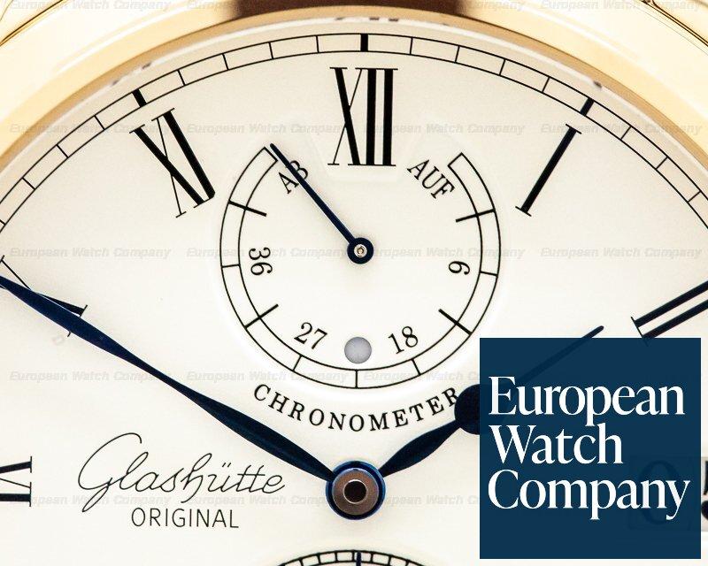 Glashutte Original 58-01-01-01-04 Senator Chronometer 18K Rose Gold