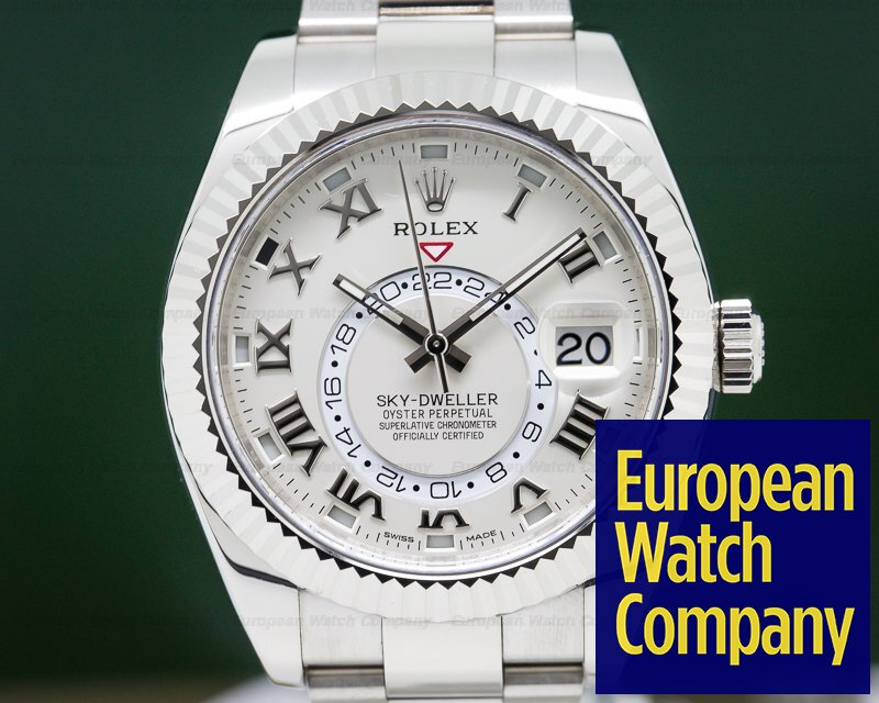 Rolex 326939 Sky Dweller 18K White Gold