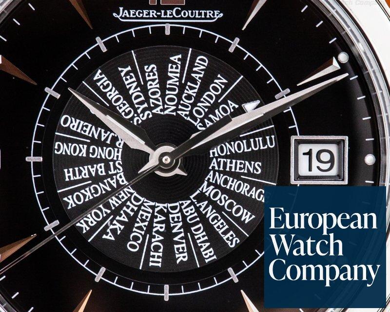 Jaeger LeCoultre Q1418471 Master Memovox International SS Black Dial Limited