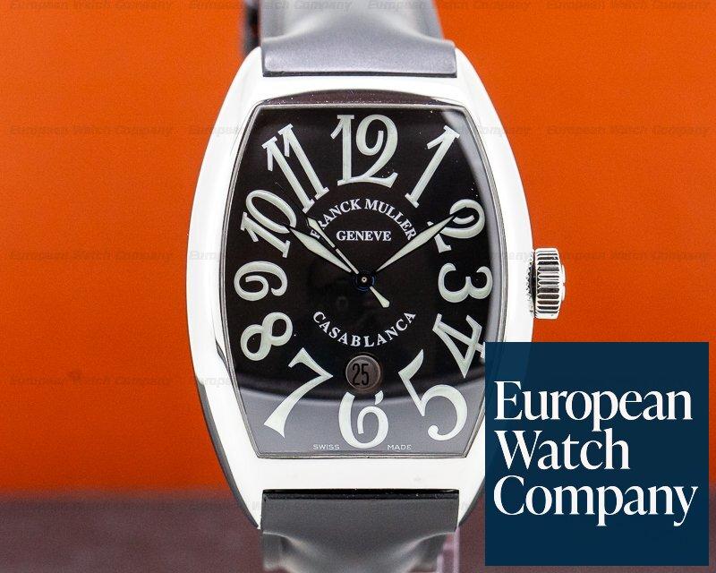 Franck Muller 8880 C DT Casablanca SS Black Dial