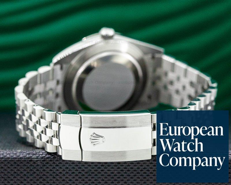 Rolex 126334 Datejust 41 Blue Dial DIAMONDS