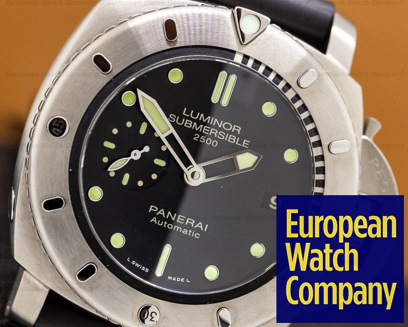 Panerai PAM00364 Luminor 1950 Submersible 2500 Meters Titanium
