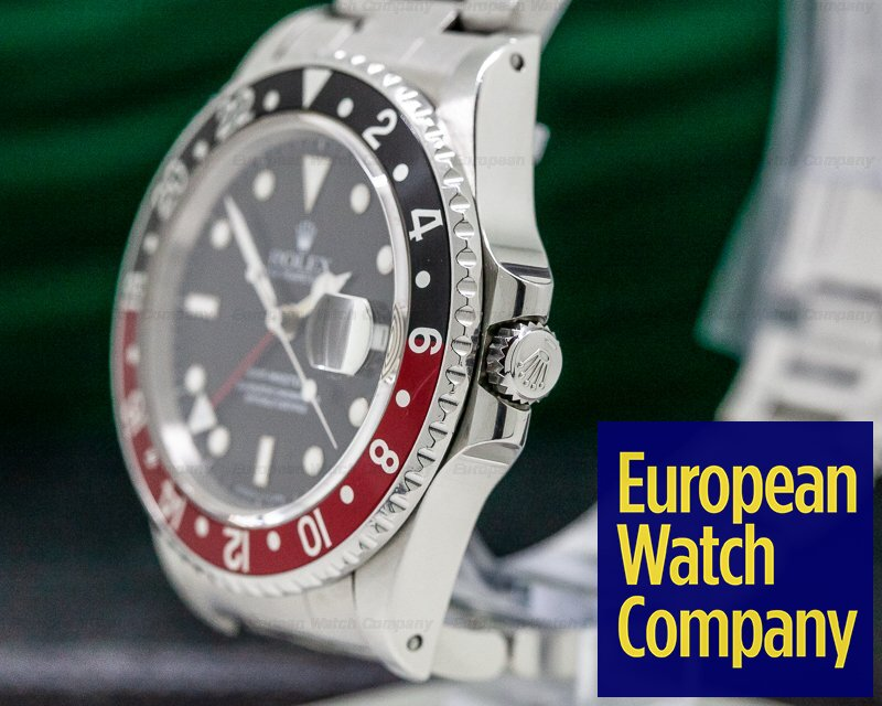 "Rolex 16760 GMT Master ""FAT LADY"" Red / Black FULL SET"