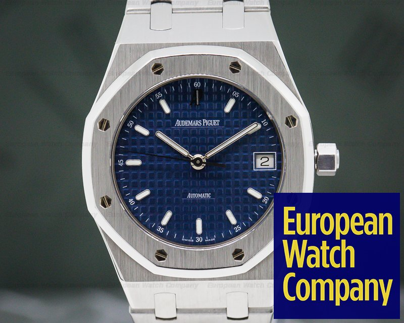 Audemars Piguet 14790ST.OO.0789ST.08 Royal Oak 36mm Blue Dial SS FULL SET