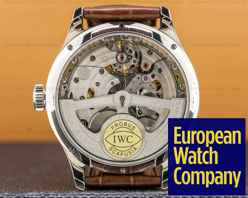 IWC IW502307 Portuguese Perpetual II Grey Dial 18K White Gold