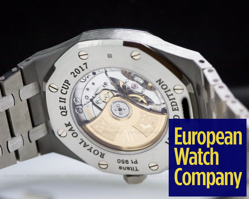 Audemars Piguet 15403IP.OO.1220IP.01 Royal Oak 2017 QEII Titanium / Platinum