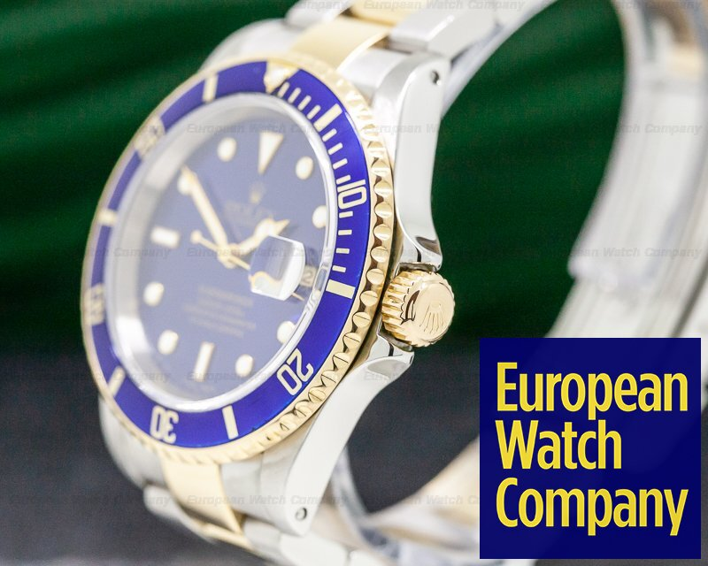 Rolex 16613 Submariner Blue Dial SS / 18K