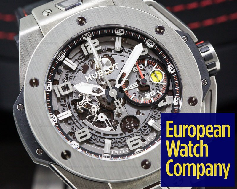 Hublot 401.NX.0123.VR Ferrari Big Bang Unico SS LIMITED