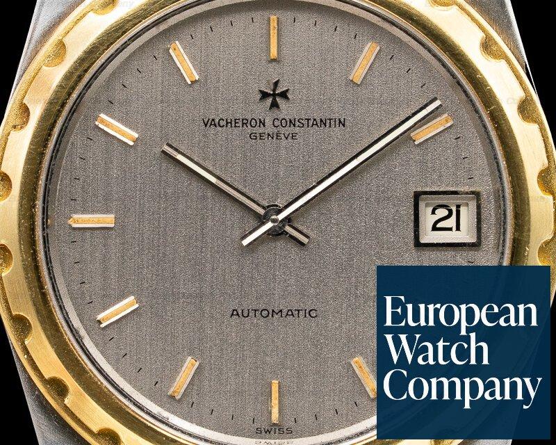 Vacheron Constantin 222 Overseas 222 Vintage Steel with Yellow Gold Bezel JUMBO 38MM