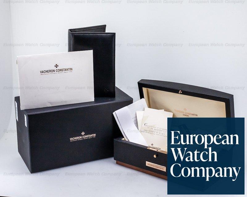 Vacheron Constantin 47040/B01A Overseas Large Automatic Black Dial SS / Bracelet