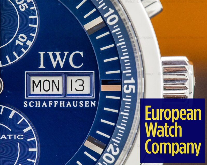IWC IW371528 GST Split Second Chronograph SS Blue Dial