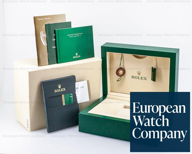 Rolex 116718 GMT Master II Green Dial 18K Yellow Gold / Bracelet