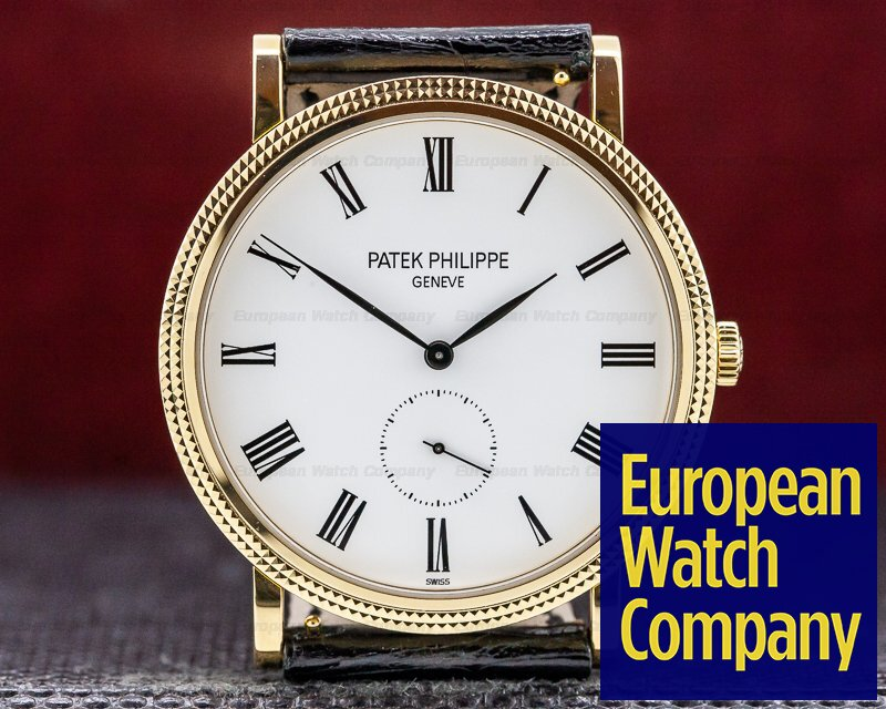 Patek Philippe 5119J-001 Calatrava 18K Yellow Gold