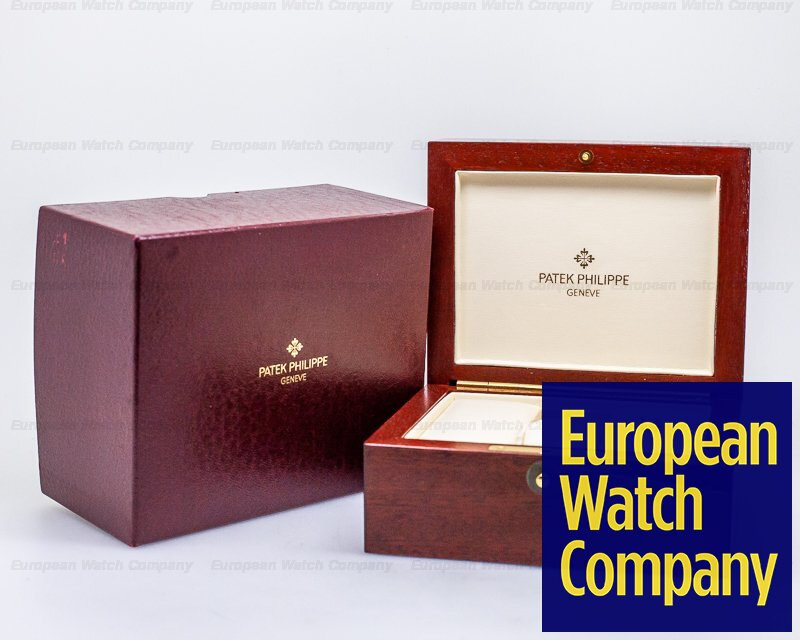 Patek Philippe 3970EJ 3970J Perpetual Calendar Chronograph 18K Yellow 2nd Series FULL SET