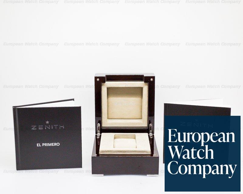 Zenith 03.2092.410/91.C496 El Primero 410 Complete Calendar Automatic Grey Dial SS
