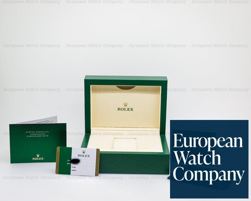 Rolex 116610LV Submariner Green Ceramic Bezel Green Dial SS UNWORN STICKERS