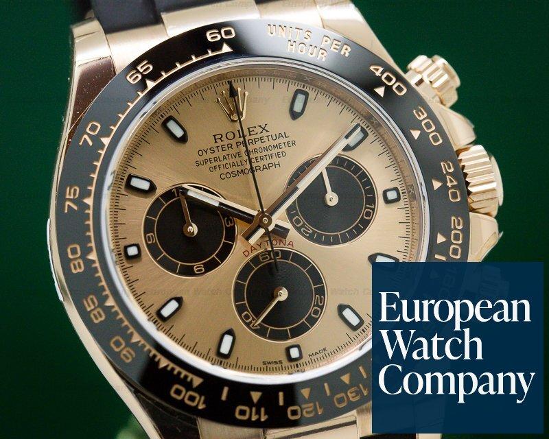 Rolex 116515LN Cosmograph Daytona Ceramic 18K Everose Gold / Rose Dial UNWORN