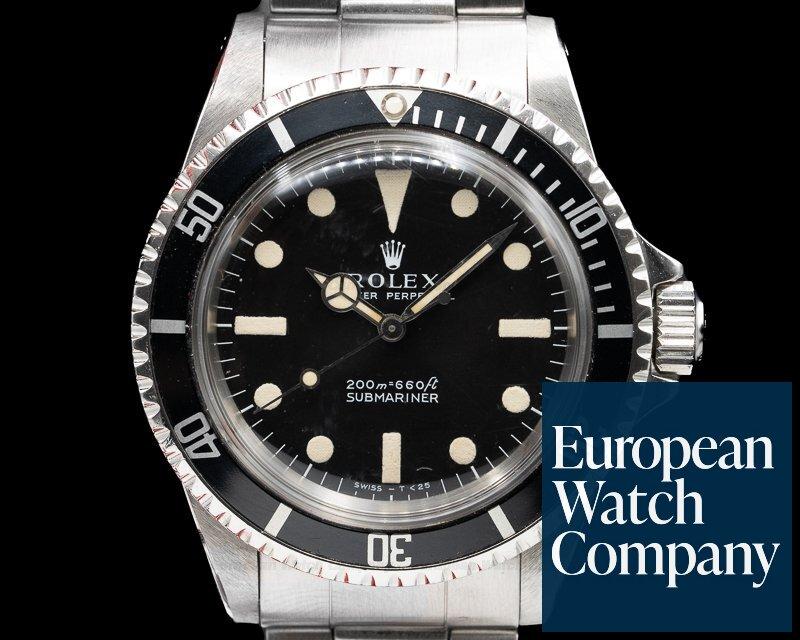 "Rolex 5513 Vintage Submariner 5513 ""Meters First"" Circa 1969"