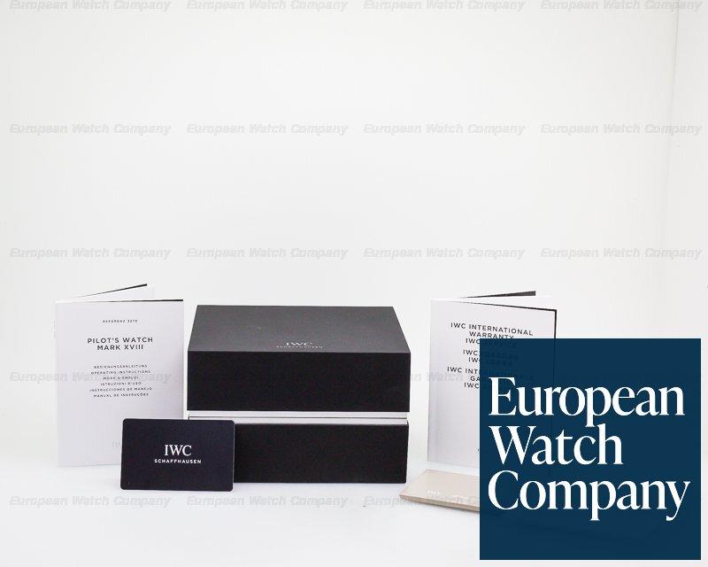 IWC IW327002 Mark XVIII White Dial SS