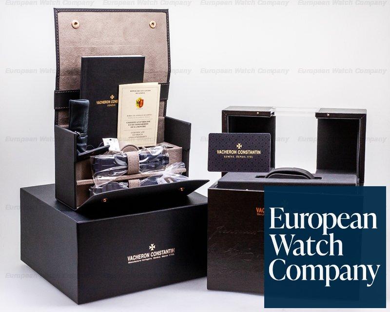 Vacheron Constantin 7900V/110A-B334 Overseas Dual Time SS Blue Dial UNWORN