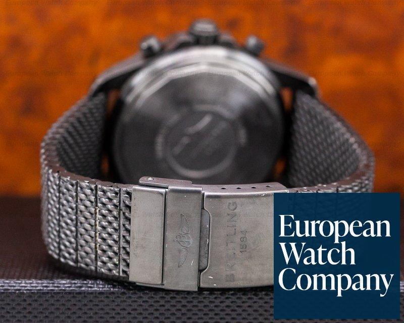 Breitling M78366 Chronospace Military Quartz / Mesh Bracelet