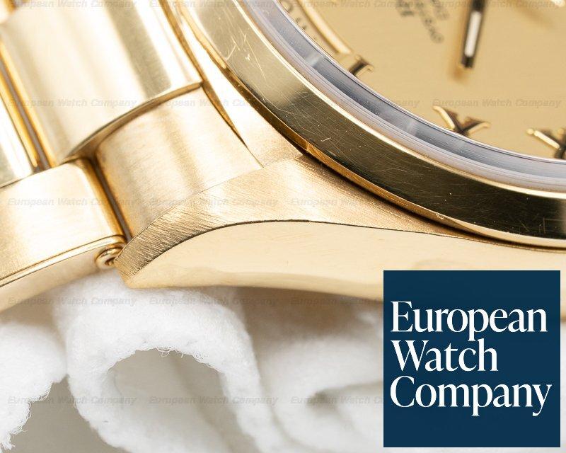 Rolex 18028 Day Date Champagne Dial 18k YG Rivet Bracelet FULL SET