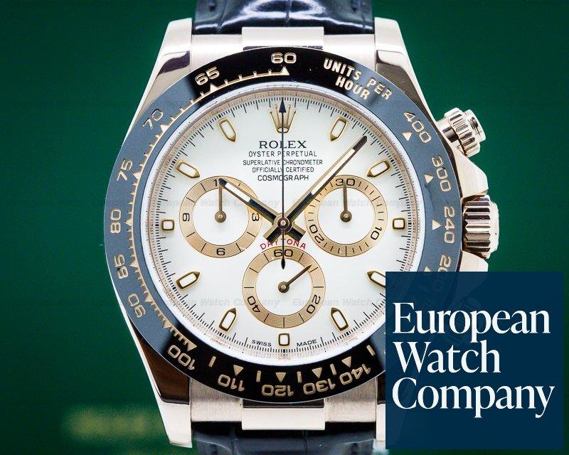 Rolex 116515LN Cosmograph Daytona 18K Rose Gold / Ivory Dial