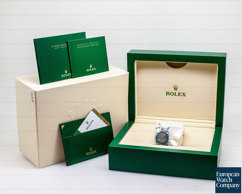 Rolex 126715 CHNR GMT Master II 18K Everose Ceramic Root Beer