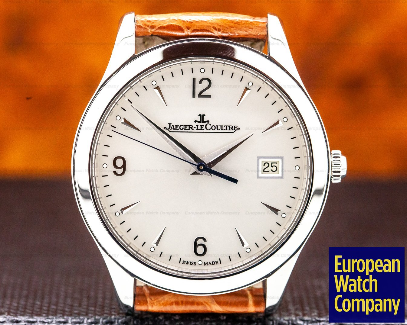 Jaeger LeCoultre 176.8.40.S Master Control Automatic SS / Strap