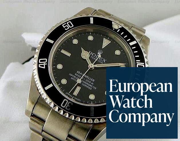 (9315) Rolex 16600 2001 Sea-Dweller SS/SS