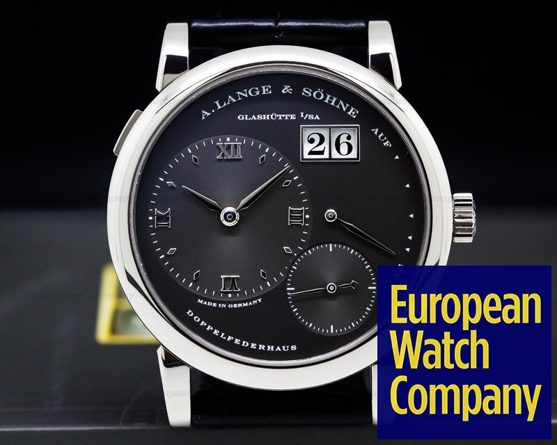 A. Lange and Sohne 101.030 Lange 1 Grey Slate Dial White Gold